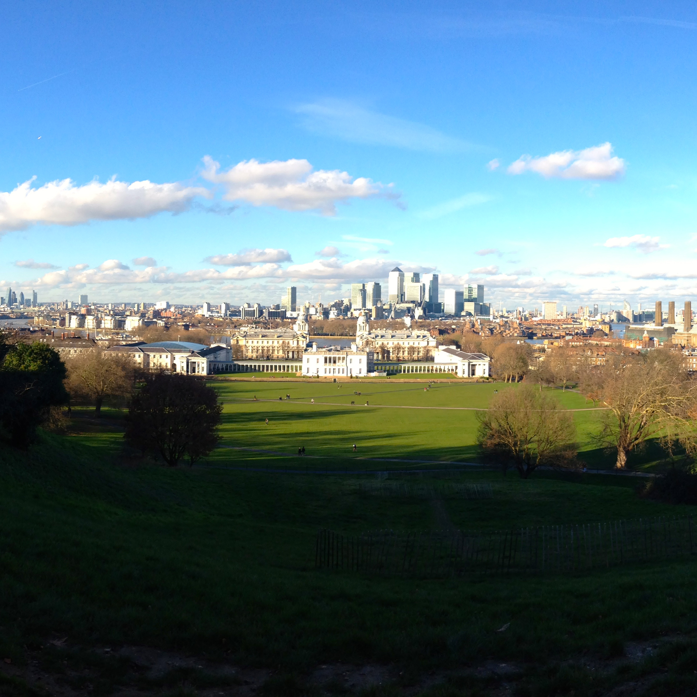 the view from the prime meridian